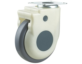 Medical Caster with TPU Wheel Swivel Plate